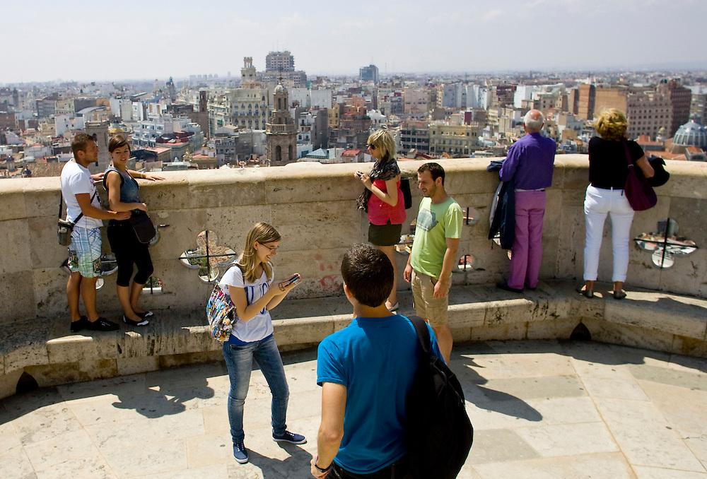 (Valencia, Spain - May 2, 2011) -  El catedral del santo caliz in Valencia, Spain Photo by Will Nunnally / Will Nunnally Photography