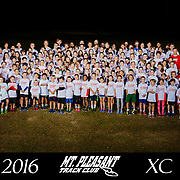 Mt. Pleasant Track Club XC Team Photo