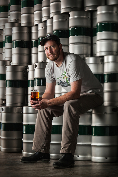 Brewmaster at The Center of the Universe Brewing in Virginia