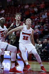 05 November 2017:  Milik Yarbrough, Anthony D'Avanzo and Taylor Bruninga during aLewis College Flyers and Illinois State Redbirds in Redbird Arena, Normal IL