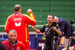 PEREZ GONZALEZ Juan Bautista during day 3 of 15th EPINT tournament - European Table Tennis Championships for the Disabled 2017, at Arena Tri Lilije, Lasko, Slovenia, on September 30, 2017. Photo by Ziga Zupan / Sportida
