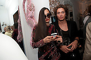 RUSHKA BERGMAN;TOMAS AUKSAS, Party at the home of Amanda Eliasch in Chelsea after the opening of As I Like it. A memory by Amanda Eliasch and Lyall Watson. Chelsea Theatre. Worl's End. London. 4 July 2010<br /> <br />  , -DO NOT ARCHIVE-© Copyright Photograph by Dafydd Jones. 248 Clapham Rd. London SW9 0PZ. Tel 0207 820 0771. www.dafjones.com.