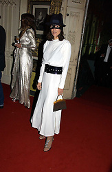 BELLA FREUD at the 2006 Moet & Chandon Fashion Tribute in honour of photographer Nick Knight, held at Strawberry Hill House, Twickenham, Middlesex on 24th October 2006.<br />