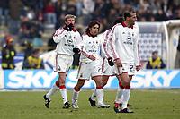Bologna 1/2/2004<br />Bologna Milan 0-2 <br />Jon Dahl Tomasson celebrates goal of 0-2 for Milan<br />Photo Andrea Staccioli / Graffiti