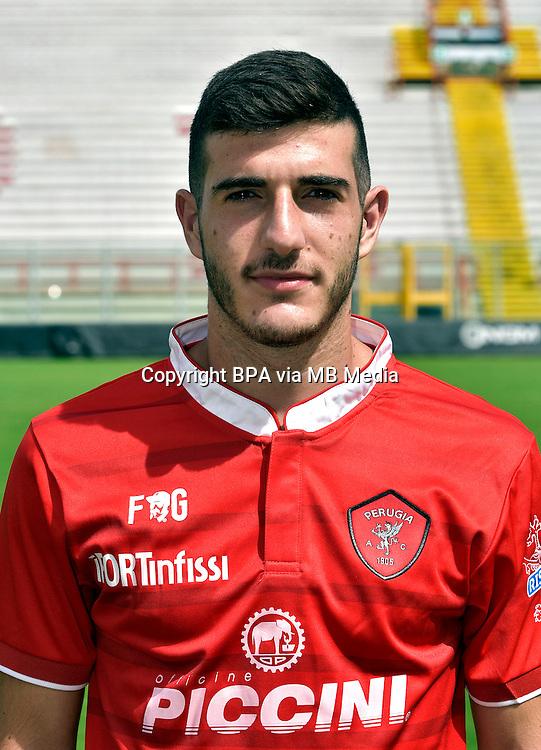 Italian League Serie B_2015-2016 / <br /> ( AC Perugia 1905 ) - <br /> Edoardo Pettinelli