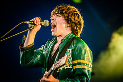 © Licensed to London News Pictures. 25/08/2017. Reading Festival 2017, Reading, UK. Barns Courtney performs at Reading Festival 2017.<br /> Photo credit: Andy Sturmey/LNP