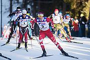 LAHTIS, FINLAND - 5 MARS: Alex Harvey under herrarnas 50 km mass start under FIS Nordic World Ski Championships den 5 mars , 2017 i Lahti, Finland. <br /> Foto: Nils Petter Nilsson/Ombrello<br /> ***BETALBILD***