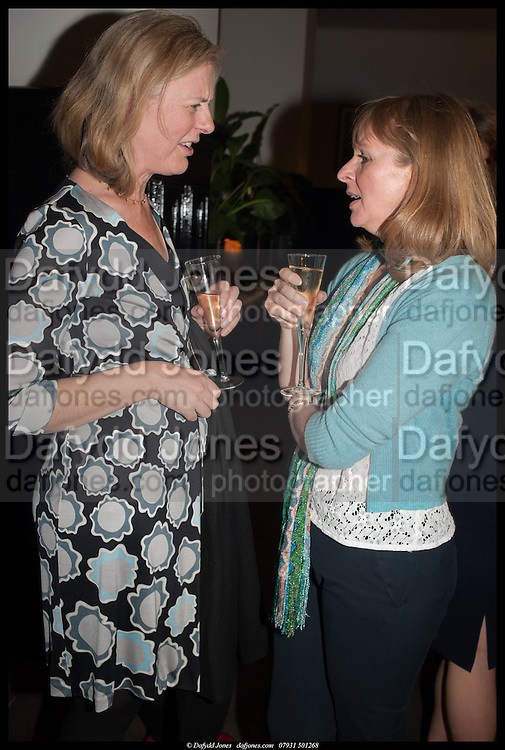 ALICE LUCAS-TOOTH; EMMA KAY, Launch of Rachel Kelly's memoir 'Black Rainbow' about recovering from depression with the help of poetry published by Hodder & Stoughton , ( Author proceeds will be given to the charities SANE and United Response ). Cafe of the National Gallery.  London. 7 May 2014