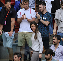 May 9, 2018 - Madrid, Spain - Ana Boyer Preysler    during day five of the Mutua Madrid Open tennis tournament at the Caja Magica on May 9, 2018 in Madrid, Spain  (Credit Image: © Oscar Gonzalez/NurPhoto via ZUMA Press)