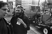 Velvet Revolution Tour - Unloading stage equipment, Sheffield, 19th September 1994