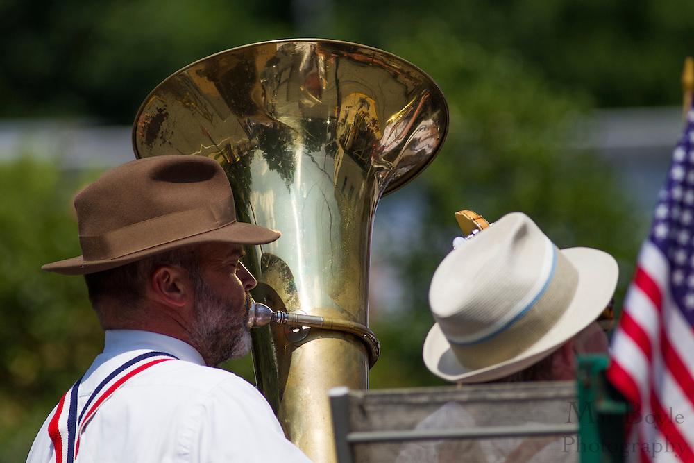 Pitman 4th of July Parade down Broadway in Pitman NJ on Wednesday July 4, 2012. (photo / Mat Boyle)