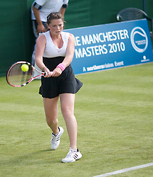 MANCHESTER, ENGLAND: Beth Askew (GBR) on Day 2 of the Manchester Masters Tennis Tournament at the Northern Tennis Club. (Pic by David Tickle/Propaganda)