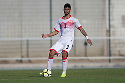 AUBAGNE, FRANCE - Tuesday, May 30, 2017: Bahrain's Mubarak Bughammar Ahmed in action during the Toulon Tournament Group B match between Bahrain and Ivory Coast at the Stade de Lattre-de-Tassigny. (Pic by Laura Malkin/Propaganda)