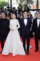 May 26, 2019 - WORLD RIGHTS.Cannes, France, 25.05.2019, 72th Cannes Film Festival in Cannes. The 72th edition of the film festival will run from May 14 to May 25. .Closing Ceremony Red Carpet .NZ.  Xu Qing, Li Guangjie .Fot. Radoslaw Nawrocki/FORUM (FRANCE - Tags: ENTERTAINMENT; RED CARPET) (Credit Image: © FORUM via ZUMA Press)