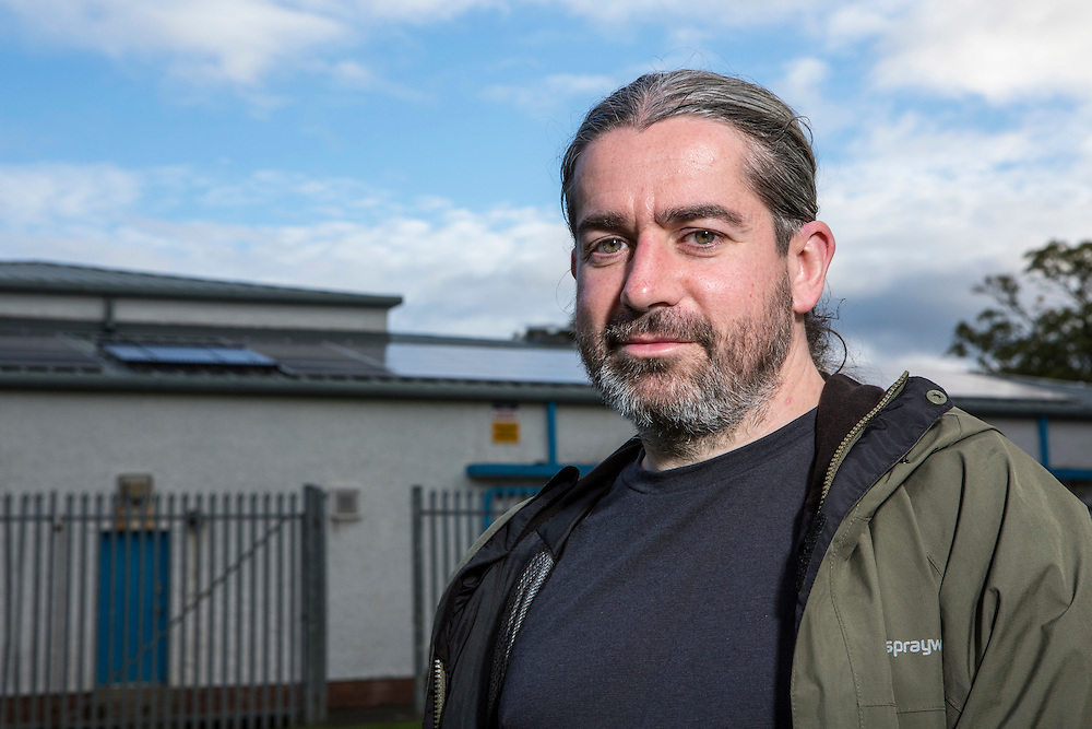 Dave Brookes, City councillor and More Renewables, Lancaster.