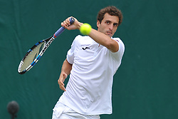 ALBERT RAMOS VINOLAS SPAIN, The Boddles Tennis Tournament,  Stoke Park Bucks, 29th June 2017<br /> Photo:Mike Capps