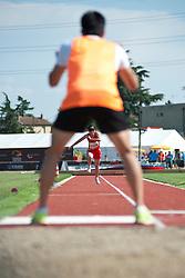 JIA Juntingxian, CHN, Long Jump, T11, 2013 IPC Athletics World Championships, Lyon, France