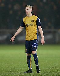 Hordur Magnusson of Bristol City - Mandatory by-line: Matt McNulty/JMP - 17/01/2017 - FOOTBALL - Highbury Stadium - Fleetwood,  - Fleetwood Town v Bristol City - Emirates FA Cup Third Round Replay