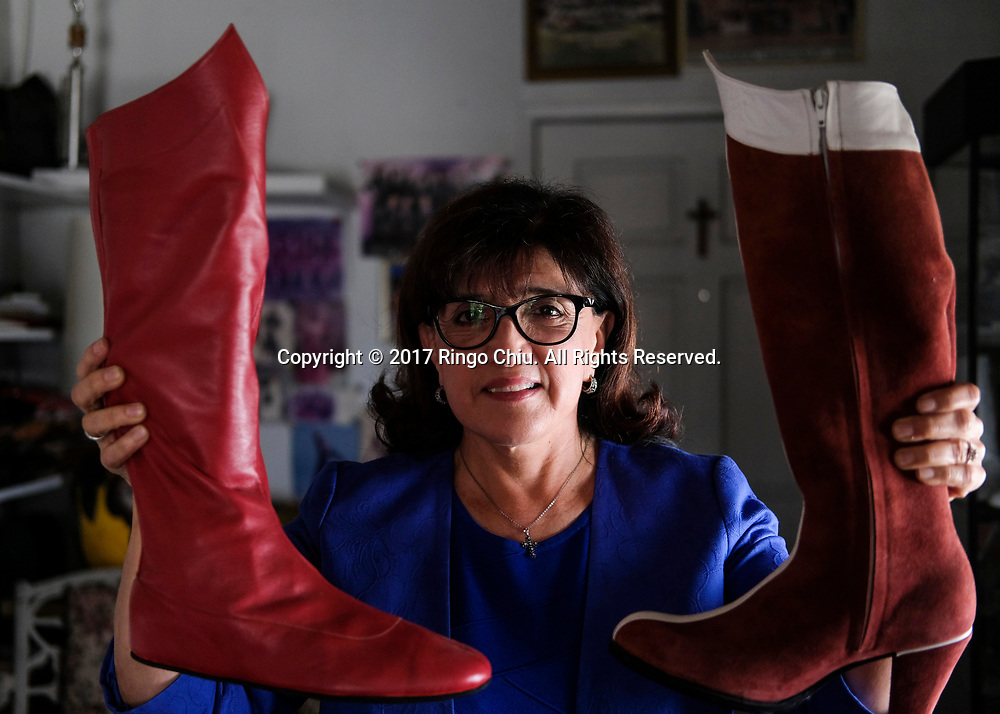 Isabel Duran II, owner, Duran Custom Dance Shoes.  (Photo by Ringo Chiu)<br /> <br /> Usage Notes: This content is intended for editorial use only. For other uses, additional clearances may be required.