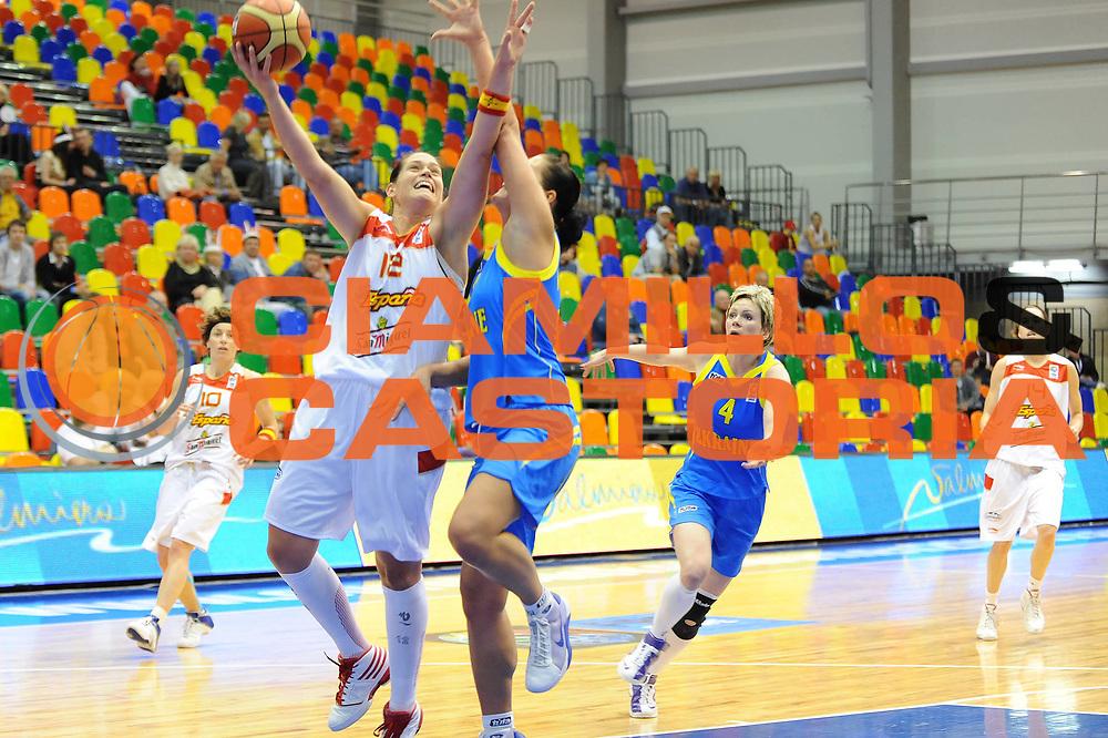 DESCRIZIONE : Liepaja Latvia Lettonia Eurobasket Women 2009 Spagna Ucraina Spain Ukraine<br /> GIOCATORE : Anna Montanana<br /> SQUADRA : Spagna Spain<br /> EVENTO : Eurobasket Women 2009 Campionati Europei Donne 2009 <br /> GARA : Spagna Ucraina Spain Ukraine<br /> DATA : 08/06/2009 <br /> CATEGORIA : tiro<br /> SPORT : Pallacanestro <br /> AUTORE : Agenzia Ciamillo-Castoria/M.Marchi<br /> Galleria : Eurobasket Women 2009 <br /> Fotonotizia : Liepaja Latvia Lettonia Eurobasket Women 2009 Spagna Ucraina Spain Ukraine<br /> Predefinita :