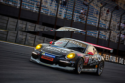July 28, 2018 - Sao Paulo, Sao Paulo, Brazil - Car in action during the 5th stage of the 2018 Brazilian Porsche GT3 Cup championship at Interlagos circuit. The race in doubles was 300 kilometers long, with almost 3 hours. (Credit Image: © Paulo Lopes via ZUMA Wire)