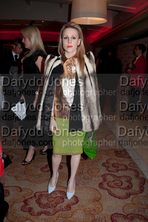 JOANNE HYNES, London Lifestyle Awards. Riverbank Park Plaza. London.6 October 2011. <br /> <br />  , -DO NOT ARCHIVE-&copy; Copyright Photograph by Dafydd Jones. 248 Clapham Rd. London SW9 0PZ. Tel 0207 820 0771. www.dafjones.com.