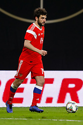 November 15, 2018 - Leipzig, Germany - Georgi Dzhikiya of Russia in action during the international friendly match between Germany and Russia on November 15, 2018 at Red Bull Arena in Leipzig, Germany. (Credit Image: © Mike Kireev/NurPhoto via ZUMA Press)