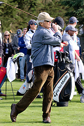 """Feb 6, 2019 Pebble Beach, Ca. USA TV, Film and singing stars that included Winners, CLINT EASTWOOD whom played in the """"3M Celebrity Challenge"""" to try for part of the 100K purse to go to their favorite charity and win the Estwood-Murray cup, for which team Clint Eastwwod's group won.. The event took place during practice day of the PGA AT&T National Pro-Am golf on the Pebble Beach Golf Links. Photo by Dane Andrew c. 2019 contact: 408 744-9017  TenPressMedia@gmail.com"""