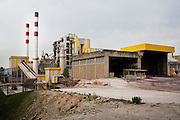 Concrete factory of Cimpor, in Souselas, Portugal