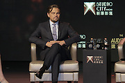 MACAU, CHINA - OCTOBER 27: (CHINA OUT)<br />  Famous actor Leonardo DiCaprio of America attends an opening ceremony of Studio City Macau on October 27, 2015 in Macau, China.<br /> ©Exclusivepix Media