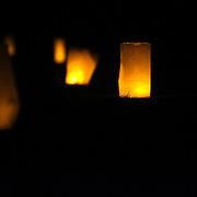 The Fourth Annual Luminary Tour was held Sunday November 9, 2014 at Oakdale Cemetery in Wilmington, N.C. (Jason A. Frizzelle)