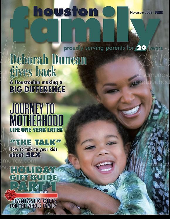 Houston Family Cover November 2008