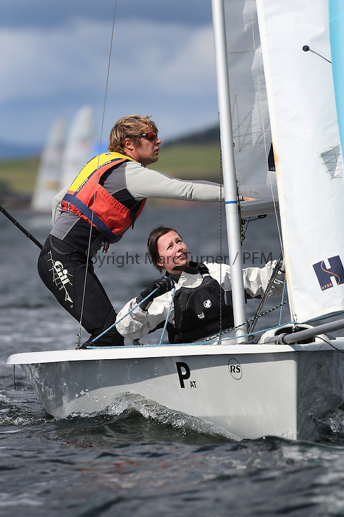 Peelport Clydeport, Largs Regatta Week 2014 Largs Sailing Club based at  Largs Yacht Haven with support from the Scottish Sailing Institute &amp; Cumbrae.<br /> <br /> Fast Handicap, RS 200, 1254, Robbie Burns, Vicki Simpson