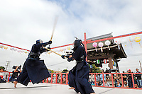 Sunday's 63rd annual Obon Festival at the Buddhist Temple of Salinas showcased Japanese culture in myriad ways, with displays of ikebana and bonsai, a ritual tea ceremony, martial arts, taiko drumming and the joyful dances which honor departed family members.