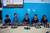 Street children in Kolcata, India