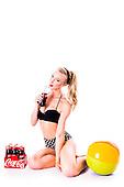 2015 Polka Dot Bikini - Jessica Briguglio