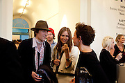 HENRY HUDSON; DASHA ZHUKOVA;  VICTORIA FERNANDEZ, Phillips de Pury and Company.- BRIC- Exhibition and auction celebrating Brazil, Russia, India and China at the Saatchi Gallery. London.  17 April 2010.