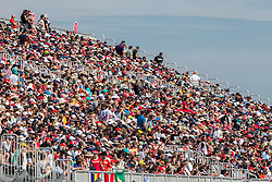 Formel 1: Grosser Preis der USA in Austin, Renntag / 231016<br /> <br /> ***Fans in the grandstand.<br /> 23.10.2016. Formula 1 World Championship, Rd 18, United States Grand Prix, Austin, Texas, USA, Race Day.<br /> ***