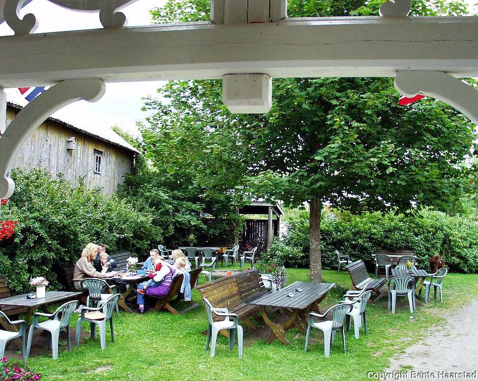Klostergården kafe, Tautra..dig