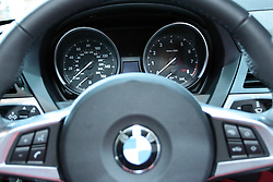 11 February 2009: 2009 BMW Z4: As the first BMW Roadster with a retractable hardtop, the '09 two-seat Z4 will succeed both the BMW Z4 Roadster and the BMW Z4 Coupe. The Z4's hardtop opens or closes at the touch of a button within 20 seconds. When the hardtop is overhead, a larger heated glass rear window, 40 percent larger side windows, increased headroom and elbowroom enhance driving. Offering the world's first inline-6 engine to feature twin turbochargers, direct fuel injection and an all-aluminum crankcase, the Z4 sDrive35i delivers 300 horsepower and impressive fuel efficiency. The 255 h.p. normally aspirated engine in the Z4 sDrive30i model also delivers excellent refinement, performance and fuel efficiency.. The Chicago Auto Show is a charity event of the Chicago Automobile Trade Association (CATA) and is held annually at McCormick Place in Chicago Illinois.