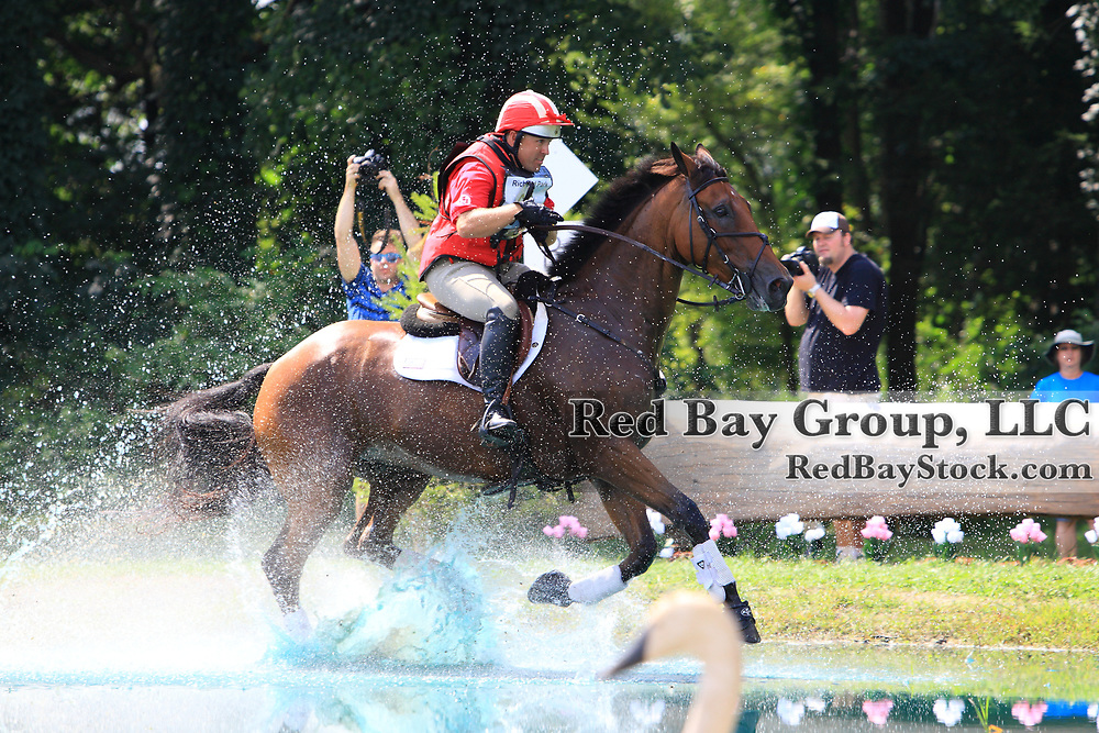 Buck Davidson and Ballynoe Castle RM at the 2011 Richland Park Horse Trials held in Richland, Michigan.