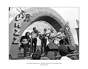 'The Dubliners' performing at a 'Guinness Family Day' at the Iveagh Gardens in Dublin.<br />