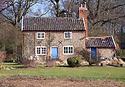 Remote cottage Suffolk Sandlings heathland Shottisham