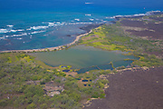 Hawaiian Fishpond, Kaloko-Honokohau National Historical Park, Island of Hawaii