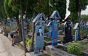 The Happy Graveyard, Maramures, Transylvania, Romania