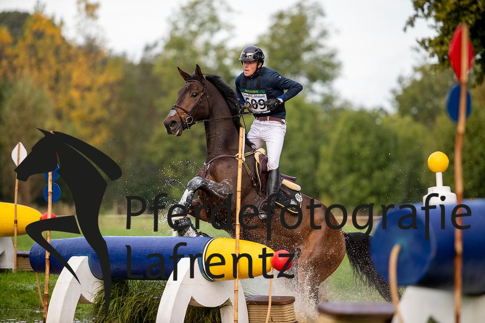 Meier Kai-Steffen, GER, QC Rock And Roll<br /> Le Lion d'Angers - Eventing World Breeding Championship 2019<br /> Teilprüfung Cross-Country 6 jährige<br /> 19. Oktober 2019<br /> © www.sportfotos-lafrentz.de/Dirk Caremans