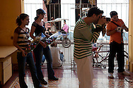 Academia de Artes Plastcas El Alba in Hoguin, Cuba.