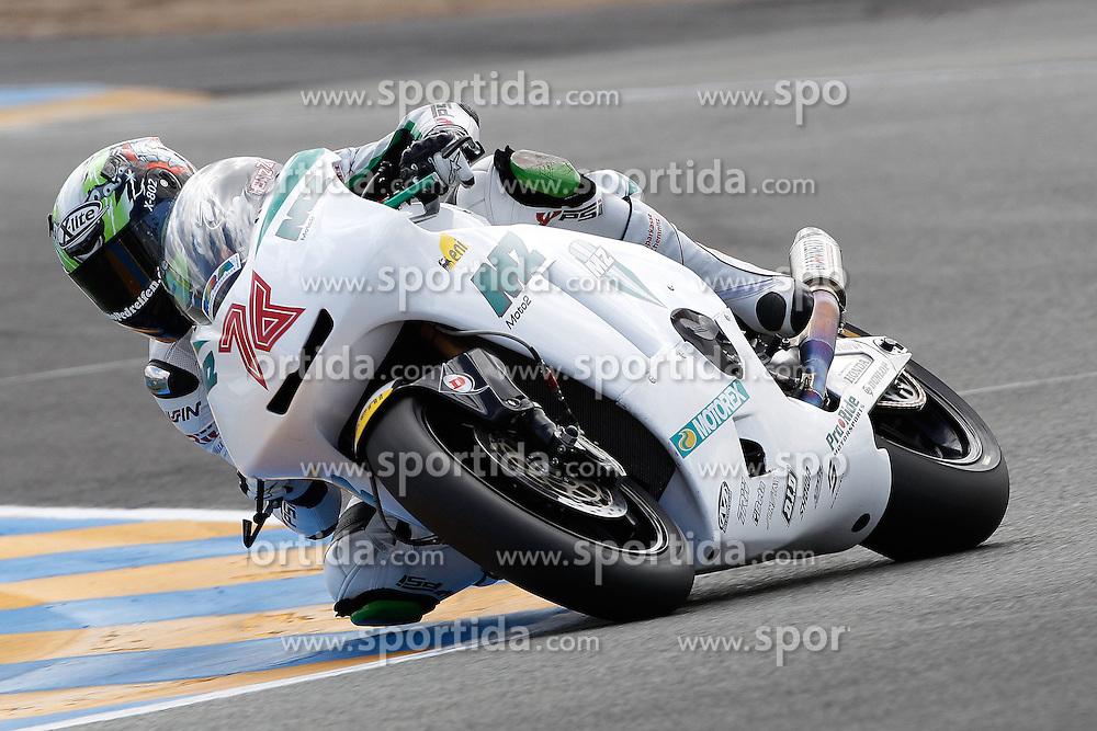 14.05.2011, Le Mans, FRA, MotoGP, Motomondiale Le Mans, im Bild Max Neukirchner - MZ racing team. EXPA Pictures © 2011, PhotoCredit: EXPA/ InsideFoto/ Semedia +++++ ATTENTION - FOR AUSTRIA/AUT, SLOVENIA/SLO, SERBIA/SRB an CROATIA/CRO CLIENT ONLY +++++