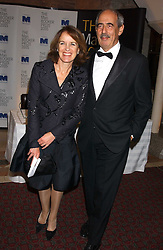 Editor of the Evening Standard VERONICA WADLEY and her husband TOM BOWER at a dinner to announce the 2005 Man Booker Prize held at The Guilhall, City of London on 10th October 2005.<br /><br />NON EXCLUSIVE - WORLD RIGHTS