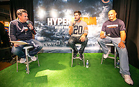 Chicago Bears at Nike Chicago as part of the NFL Hyperwarm  activation for Opening NIght of renovation of Nike Chicago
